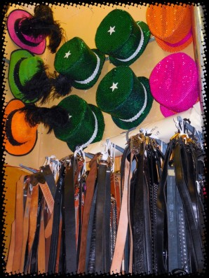 ... and MORE hats! ... and belts galore!