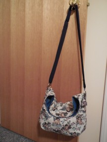 May 20 through May 31 - Me Made purse, my first but not my last! So fun to make!