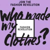 Fashion Revolution Day!