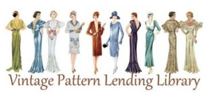 Vintage Pattern Lending Library (Etsy) - gift certificate worth USD $25